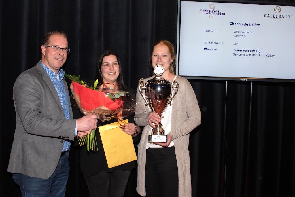 Chocolade trofee: Bakkerij van der Bijl