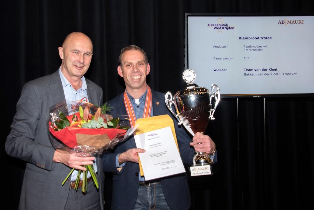 Kleinbrood trofee: Bakkerij van der Kloet