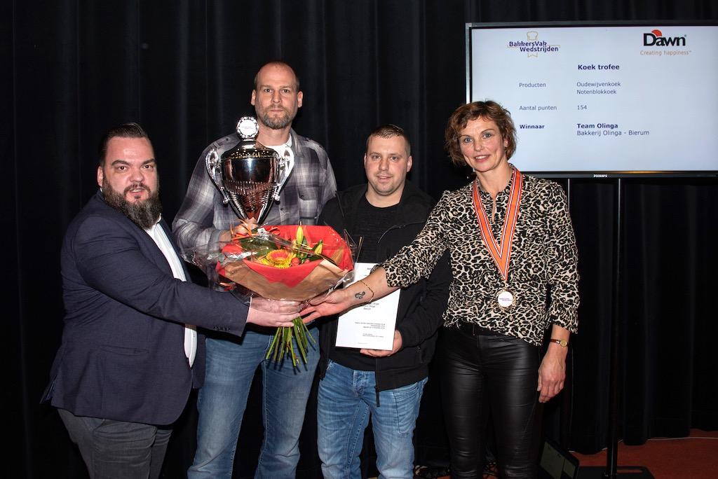 Koek trofee: Bakkerij Olinga