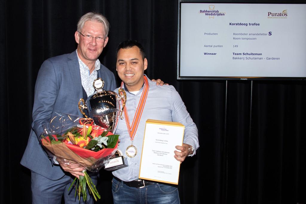 Korstdeeg trofee: Bakkerij Schuiteman