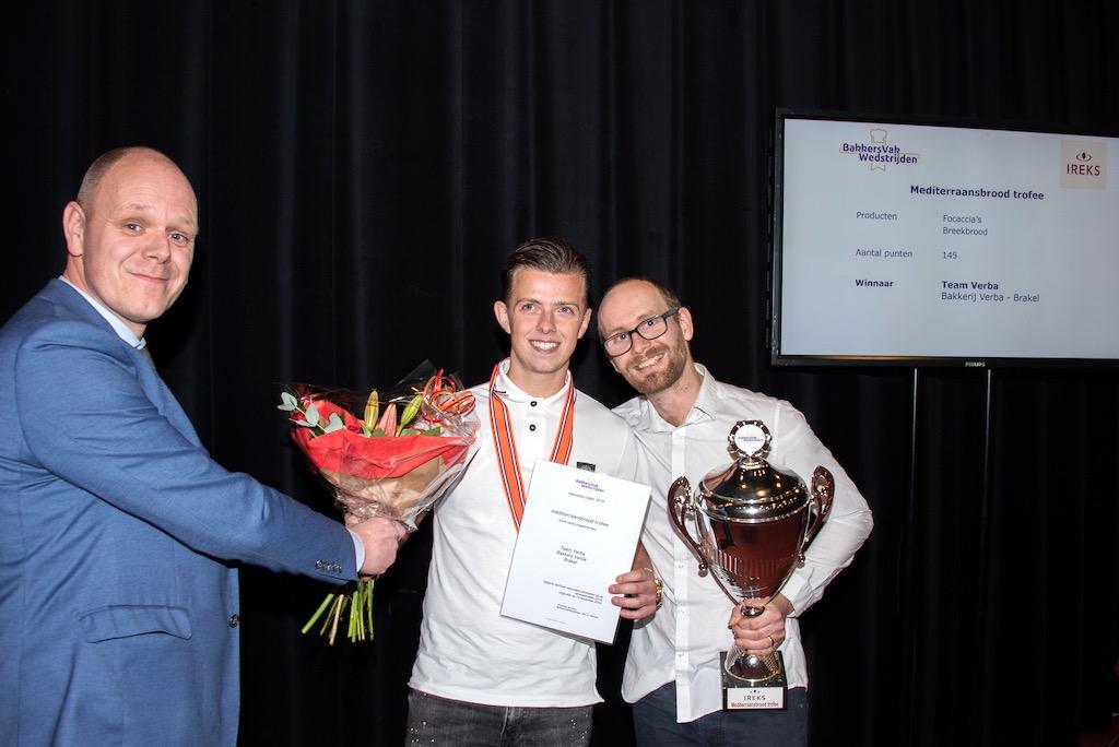 Mediterraansbrood trofee: Bakkerij Verba