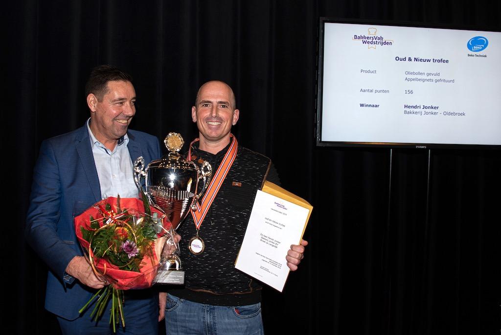 Oud & Nieuw trofee: Hendri Jonker, Bakkerij Jonker