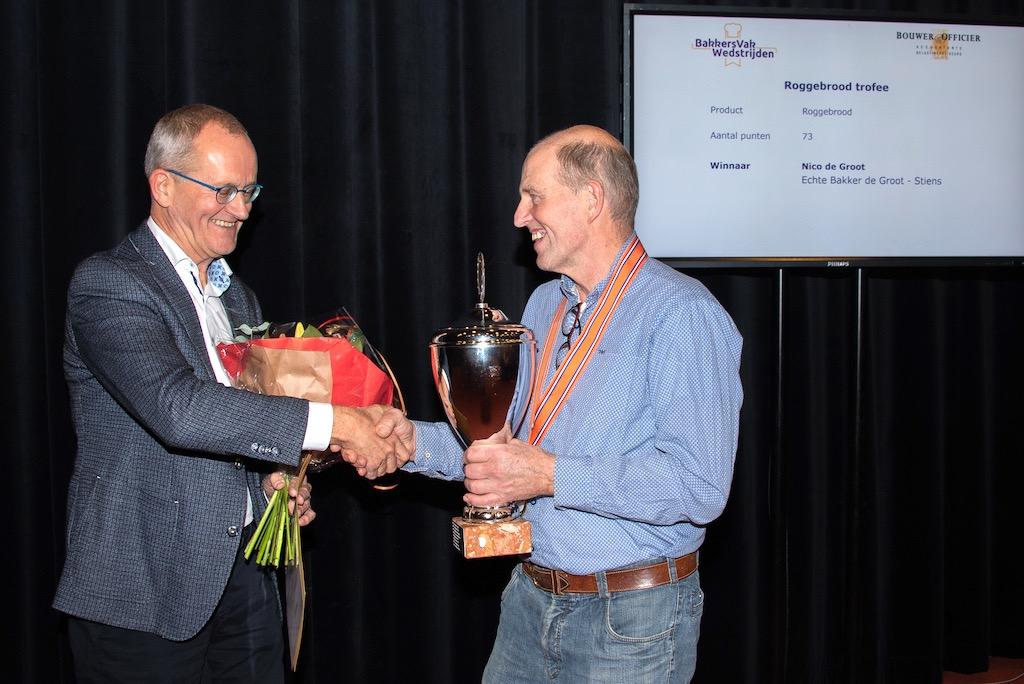 Roggebrood trofee: Nico de Groot, Echte Bakker de Groot