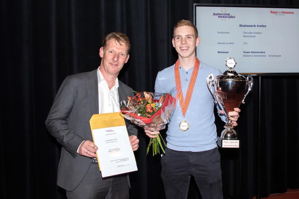 Stukswerk trofee: Bakkerij Hamersma