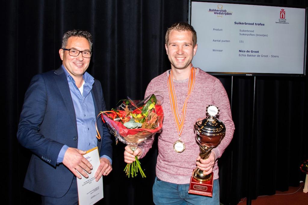 Suikerbrood trofee: Nico de Groot, Echte Bakker de Groot