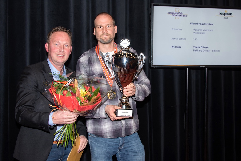 Vloerbrood trofee: Bakkerij Olinga